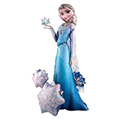 Idea Regalo - Disney Frozen- Pallone Foil Airwalker 57