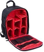 حقيبة كاميرا مضادة للماء دي إس إل آر، حقيبة ظهر مضادة للصدمات - باللون الأحمر