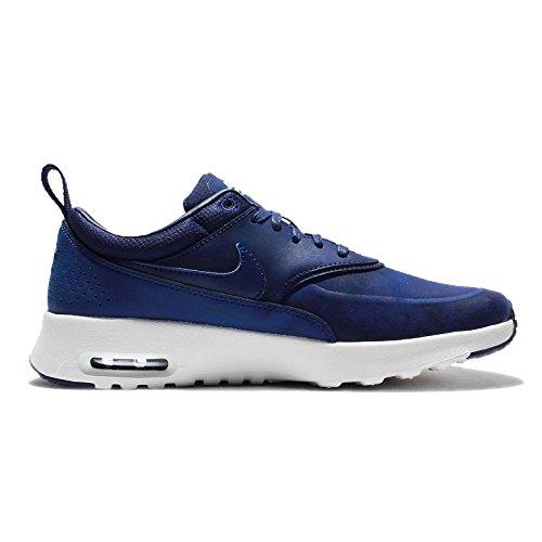 Nike Wmns Air Max Thea Prm Scarpe da Ginnastica, Donna Blu marino-Bianco