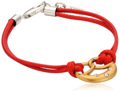 Sweet Deluxe Damen-Armband Wiesn Eva gold/rot 01174