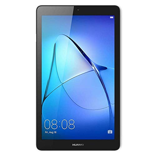 "Huawei Mediapad T3 7 Tablet WiFi, Pantalla de 7"", CPU MTK MT8127, Quad-Core A7, RAM 1 GB, 8 GB Memoria Interna, Space Gray"