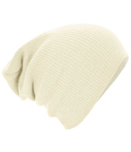 Slouch Beanie - Farbe: Off White Off White Winter Beanie