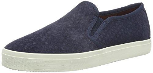 Marc O'Polo Sneaker, Baskets Basses Femme Bleu - Blau (Dark Blue 880)