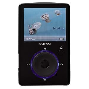 Sandisk Sansa Fuze FM Lecteur mp4 8 Go  Noir