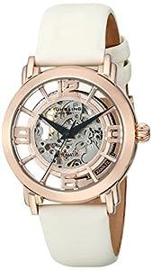 Stührling Original 156.124W14 - Reloj analógico para mujer, correa de cuero, color blanco de Stuhrling Original