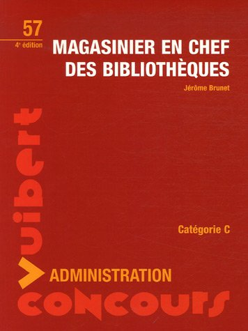 Magasinier en chef des bibliothèques
