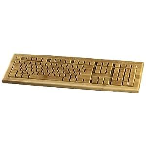 Hama Multimedia Funktastatur Bambus