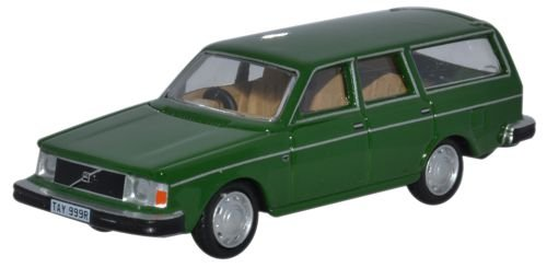 oxford-diecast-76ve001-volvo-245-estate-green