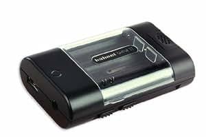 Hähnel Unipal II Chargeur universel Pour appareils photo/batteries/portables/lecteurs MP3 Port USB Câble 12 V (Import Allemagne)