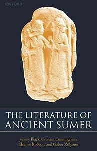 The Literature of Ancient Sumer par Jeremy Black