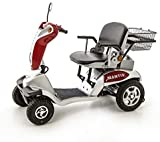 CHAIR Wheelchair, Medical Rehab Chair for Seniors,Old People,Mantis Class 3 Road Legal Electric Travel Mobility Scooter Lead Acid Batteries Compact, Foldable Adult Mobility Scooter with Switch Oper