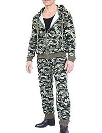 Ensemble Veste Et Pantalon Jogging Camouflage Igor