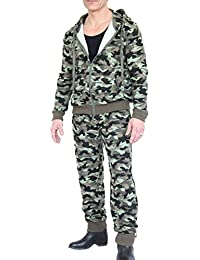 Waooh - Ensemble Veste Et Pantalon Jogging Camouflage Igor