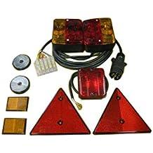 Kit eléctrico para remolque (2030x1400) 7 pins