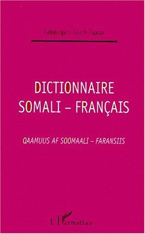 Dictionnaire somali-français