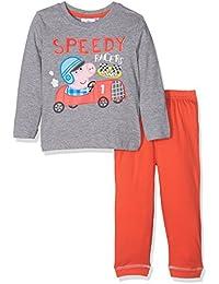 Peppa Pig George Jungen Schlafanzug Pyjama lang