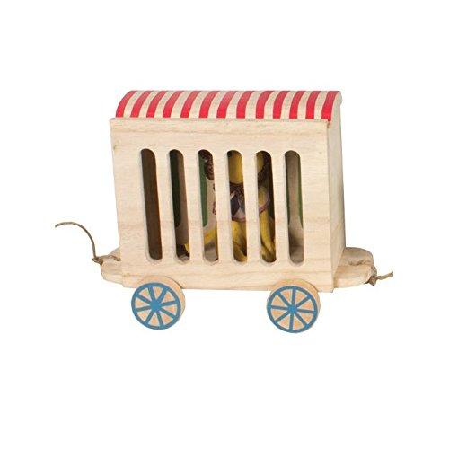 Maileg animal de cirque wagon en bois 5707304048664