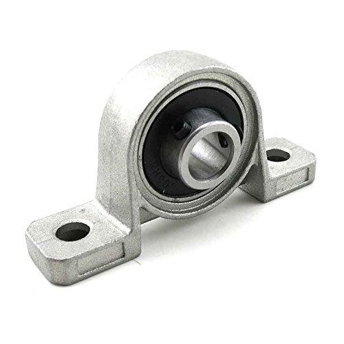 12mm Bohrung Innen Durchmesser zinc-aluminum Legierung Flansch Pillow Block Kugellager Sitz KP001, 4