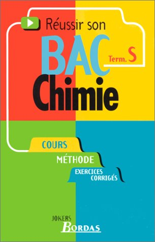 006 - CHIMIE TERM. S (Ancienne Edition)