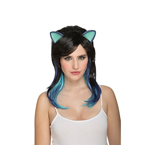 viving Kostüme viving costumes204634 Lange Haare Kitty Perücke (One Size) -