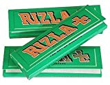 from Rizla RIZLA 2500 Rizla Green Standard Papers 50 Booklets Bargain!!! Free Delivery