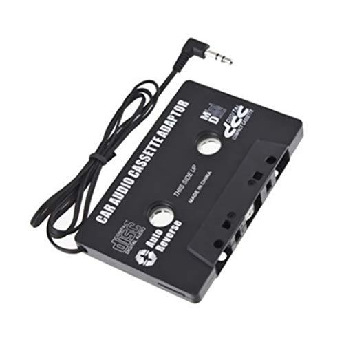 Adaptateur Cassette Universel Autoradio avec Sortie jack 3,5mm Mallalah pour iPod, iPhone, baladeur, lecteurs MP3, CD, Smartphone et Tablette Mobile