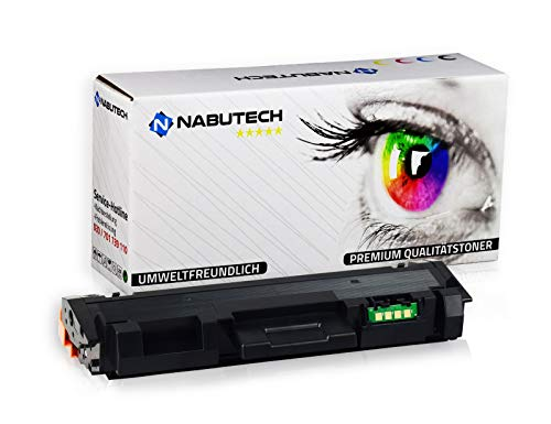 Nabutech Toner 6.500 Seiten   110{49a96b549b2fcd9f860f1866cf47104fe061e9067bb4b81565f4e0ecf50b1fd3} mehr Druckleistung   kompatibel, als Ersatz für MLT-D116L für Samsung Xpress M2625, M2625D, M2675FN, M2820DW, M2825DW, M2825ND, M2835DW, M2875FD, M2875FW, M2875ND, M2885FW   Geprüft nach ISO-Norm 19752 