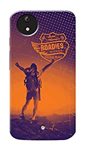 Roadies Hard Case Mobile Cover for Micromax Canvas A1 AQ4502