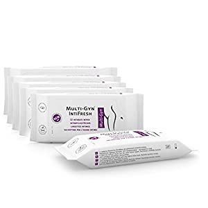 Multi-Gyn IntiFresh Intimpflegetücher, 6er Pack (6 x 12 Stück)