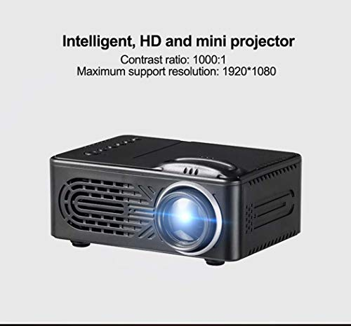 WSHZ Mini Film Projectorfilm Projector Home Theater Visual Video Projectorsupport 1080P TV HDMI Outdoor Indoor Movie Night  DVD Player  Smartphone  Laptop  Game