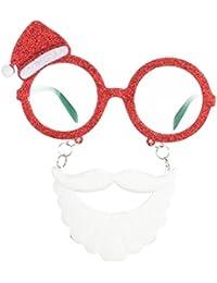 Good Night Gafas de Navidad Novedad Xmas Gafas de sol Props Decoraciones de fiesta