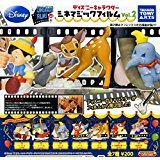Disney Character Cinema Magic Film vol.2 7 species Set Gacha mascot