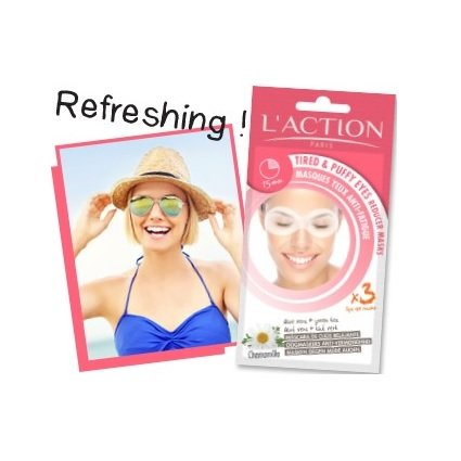 Masques Yeux Anti-Fatigue x3 PCS