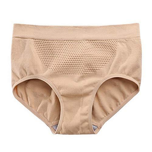 LANSKIRT Damen Unterwäsche, Frauen Sexy erotik Dessous Schlüpfer unsichtbare Unterwäsche Tanga Nahtloser Schritt aus Baumwollgas - Nahtloser Bodystocking