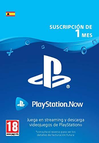 PlayStation Now - Suscripción 1 Mes | Código de descarga PS4 - Cuenta española
