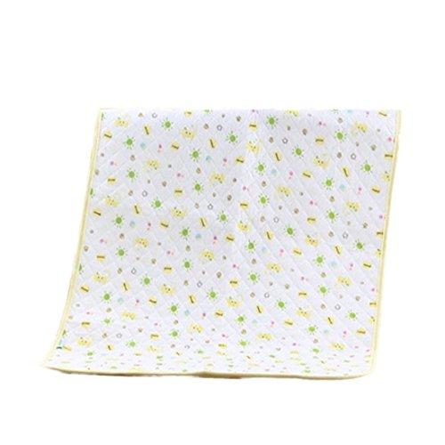 Almohadilla de colchón impermeable hoja y, Protector de colchón para bebé Niños...
