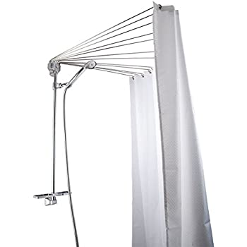High Quality Shower Curtain Hanging Web Spider 12 Arms New