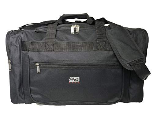 Roamlite Jazzi RL58MA - Bolsa de Deporte para Gimnasio (66 x 31 x 31 cm, tamaño Grande), Color Negro, Color Negro, tamaño Medium, Volumen 50liters