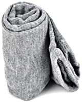 SWT Fashion Ladies Girls Soft Arm Warmer Long Stretchy Sleeve Fingerless Gloves --- Gray
