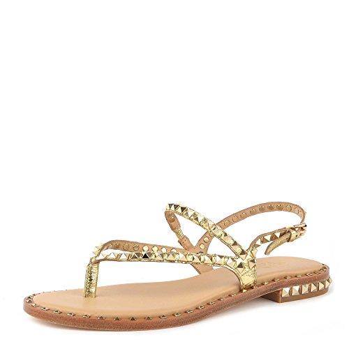 Ash Footwear Scarpe Peps Sandali Oro Donna 39 Ariel