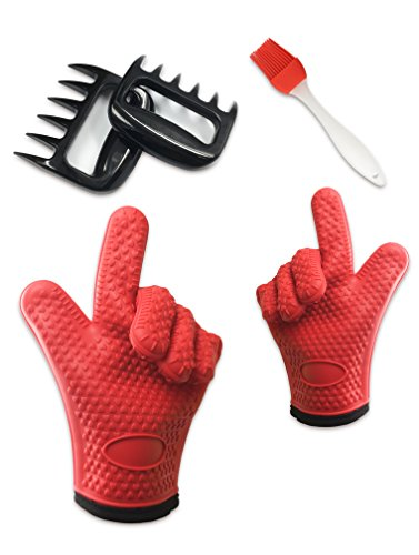 sunstrider-silicone-oven-gloves-meat-shredder-basting-brush-set-guantes-de-aislamiento-termico-guant