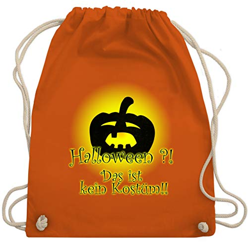 Keine Furchterregende Kostüm - Halloween - Kein Halloweenkostüm - Unisize - Orange - WM110 - Turnbeutel & Gym Bag