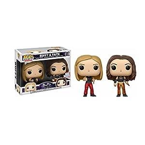 Funko Figurine Buffy Contre les Vampires 2 Pack Buffy Faith Exclu Pop 10cm 0889698145893