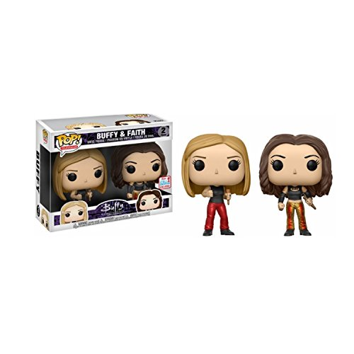 Funko - Figurine Buffy Contre les Vampires - 2-Pack Buffy & Faith Exclu Pop 10cm - 0889698145893, Figurines Buffy