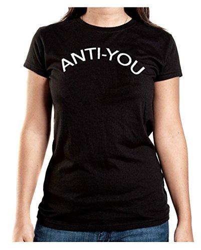 Anti-You T-Shirt Girls Nero-XXL