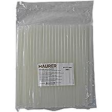 Maurer 14050191 - Silicona en barra (caja de 1 kg, diámetro de 11,2 mm) color transparente