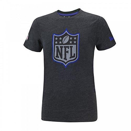 New Era Two Tone Pop T-Shirt Herren NFL LOGO Grau Charcoal