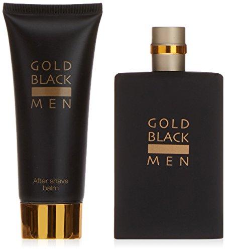 Gold Black Eau De Toilette Spray 100ml Set 2 Parti