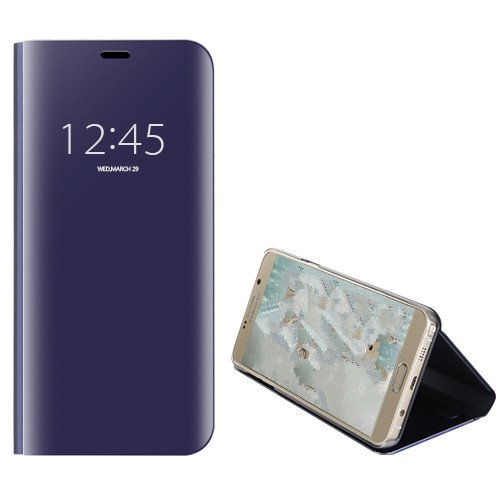 Price comparison product image Funda® Mirror Plating Flip Case for Huawei Honor Note 10 (Purple)