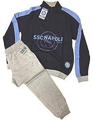 Pijama largo niño Napoli Fútbol Camiseta + Pantalón * 14624